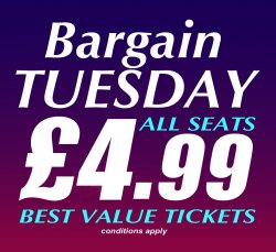 Bargain Tuesdays
